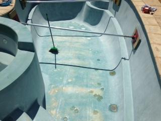 Before swimming pool renovations | Jadan Pool Renovations